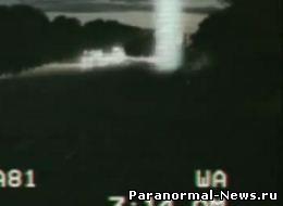 Немецкий телеканал показал видео с НЛО в туннеле (видео)