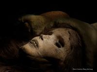 """""""Красавица из Синьохе"""". Ей свыше 3800 лет, так что для столь почтенного возраста сохранность следует признать идеальной."""