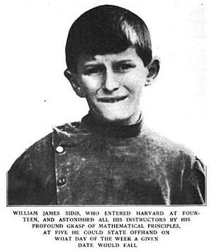 Уильям Джеймс Сидис: Горе от ума (5 фото)