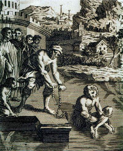 Феномен ордалий или Божий суд (4 фото)