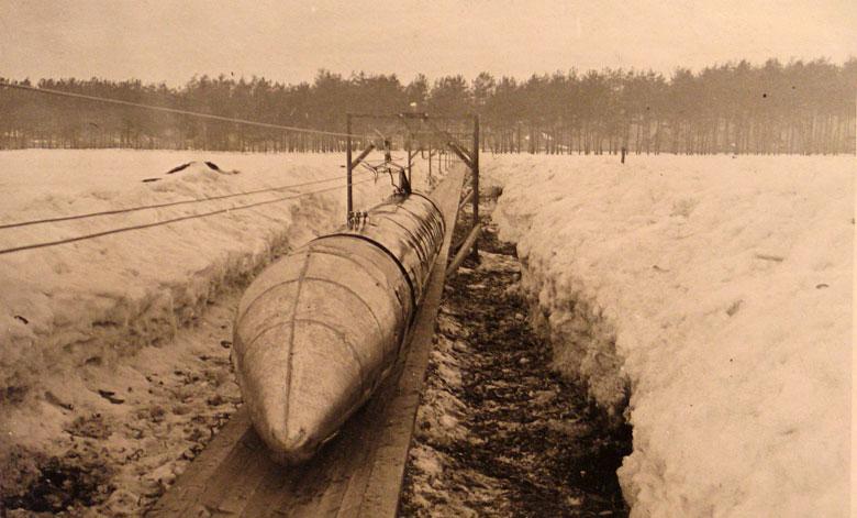 Опередивший свое время: Шаропоезд Николая Ярмольчука (5 фото)