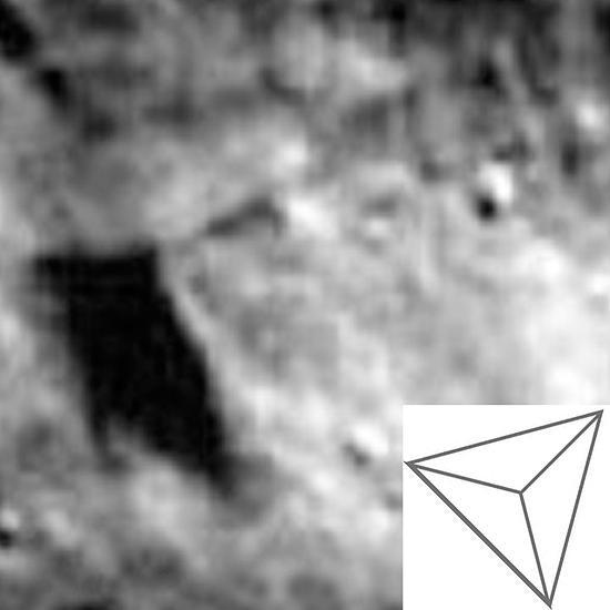 Аномальная структура на Луне